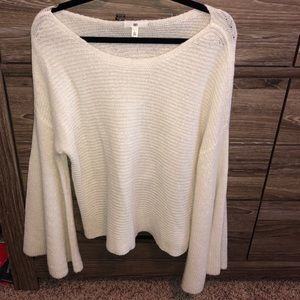 Cream Bell Sleeve Sweater from Nordstrom   BP